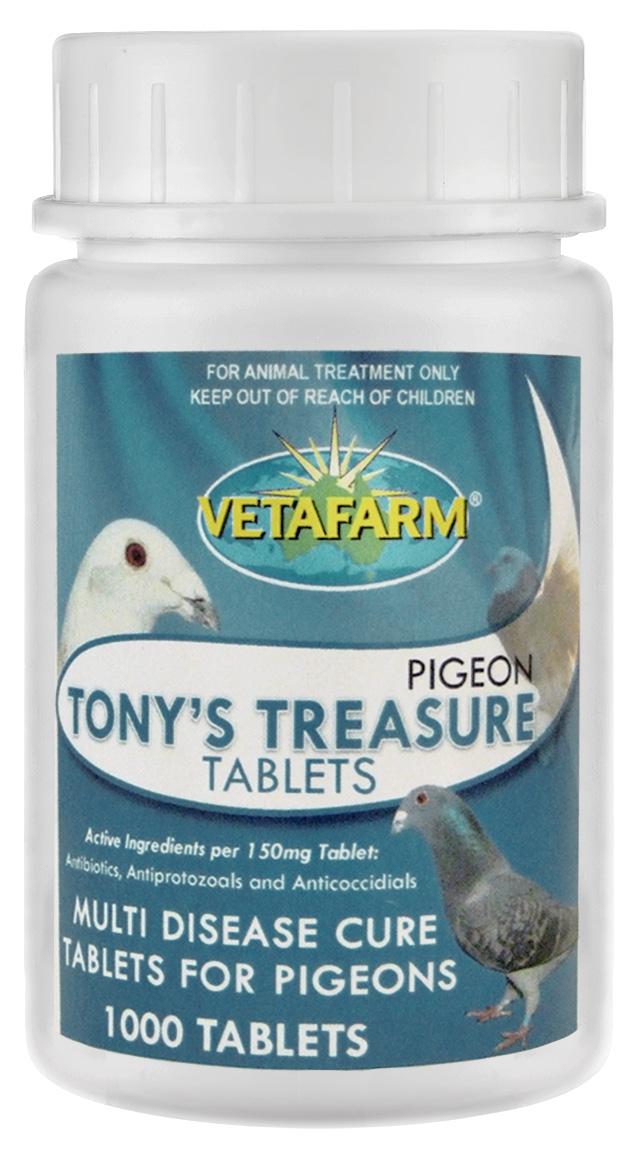 Tony's Treasure Tablets 1000's